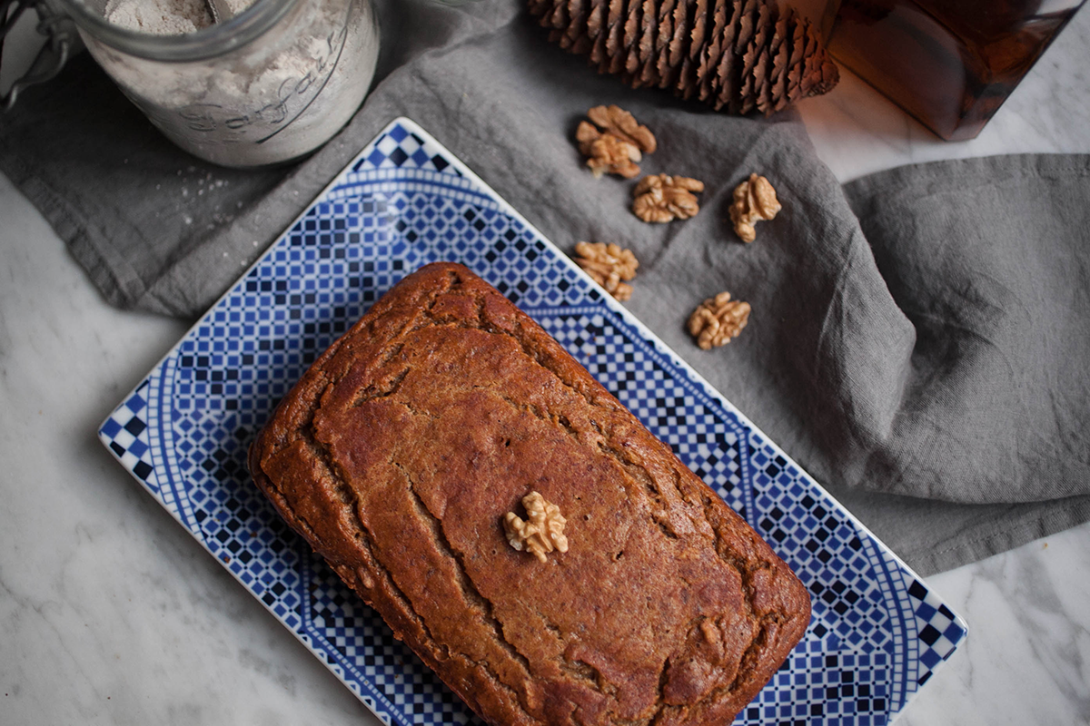 Banana Bread {Vegan}_1_Gold&Thyme